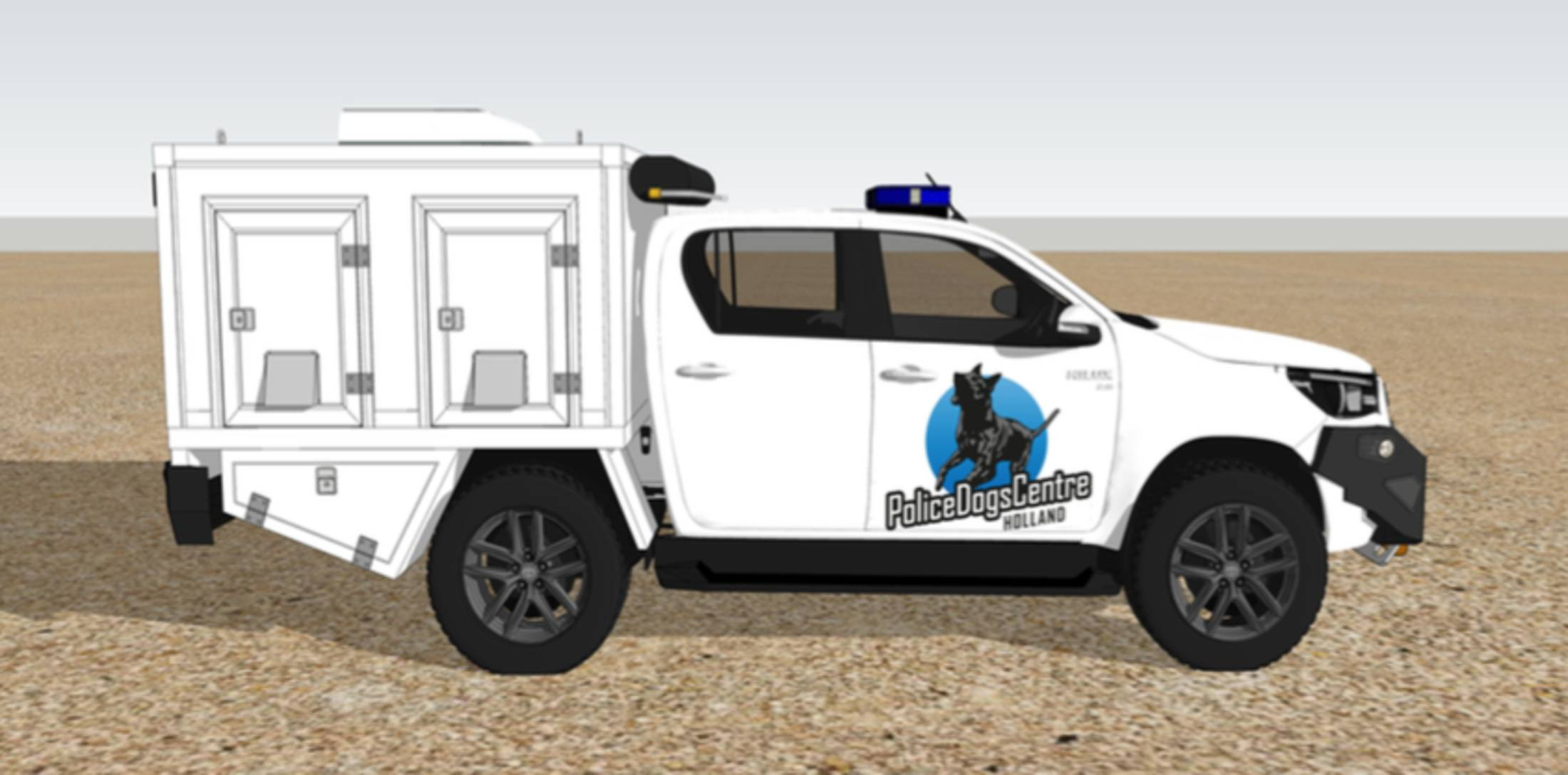 police dogs cars 1